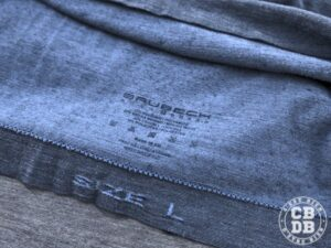test t-shirt mérinos brubeck outdoor wool