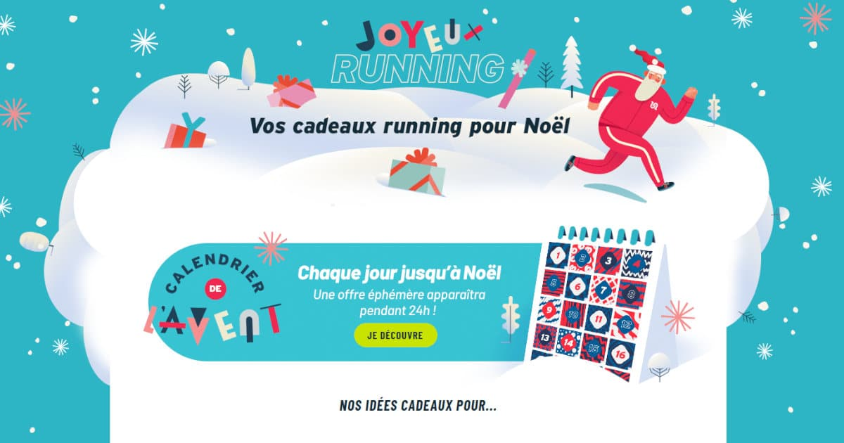Un Noël Running avec I-Run
