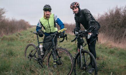 95 kilomètres de vélo dans le froid