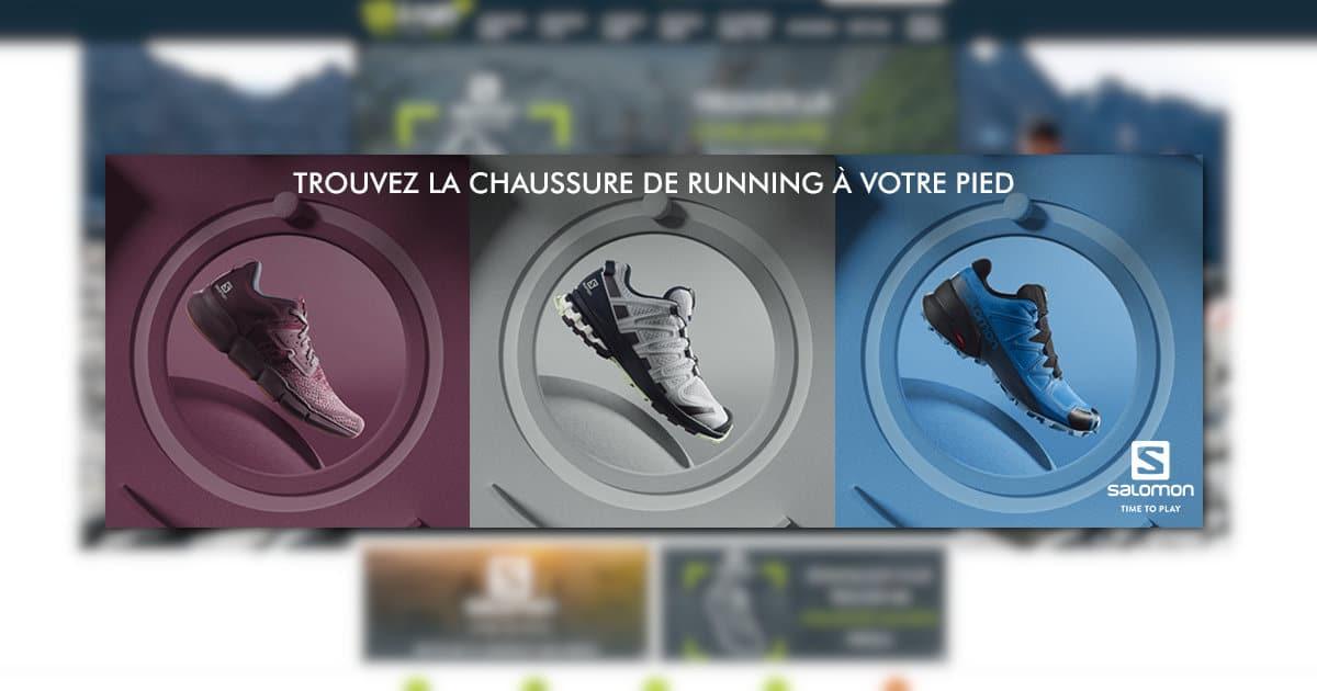 Le Shoe Finder Salomon chez i-Run ou comment trouver sa chaussure de running ou de trail