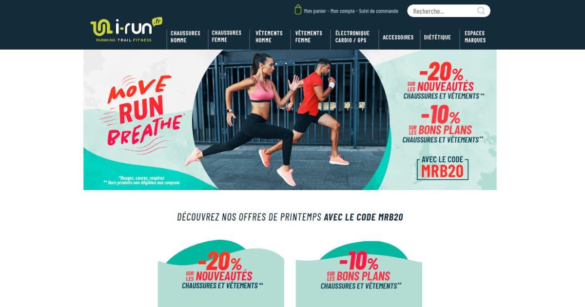 Move Run Breath : jusqu'à -20% chez i-Run