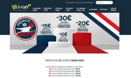 Les French Days running chez I-Run